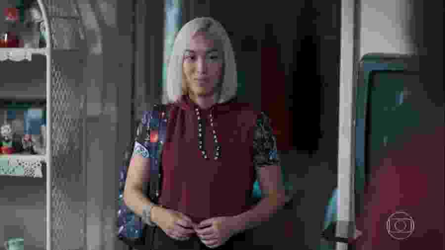 Tina (Ana Hikari) em Malhação (Reprodução/TV Globo). - Reprodução / Internet