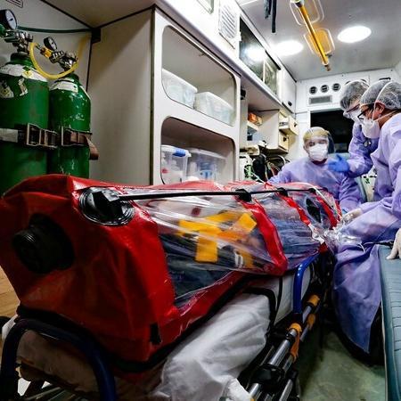 Namorado de enfermeira que morreu na fila da UTI diz que faltou respirador - Reprodução/Flickr Governo do Estado de Santa Catarina