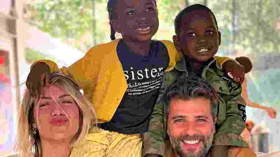 Bruno Gagliasso, Giovanna Ewbank e filhos Titi e Bless (Foto: Reprodução/ Instagram) - Bruno Gagliasso, Giovanna Ewbank e filhos Titi e Bless (Foto: Reprodução/ Instagram)