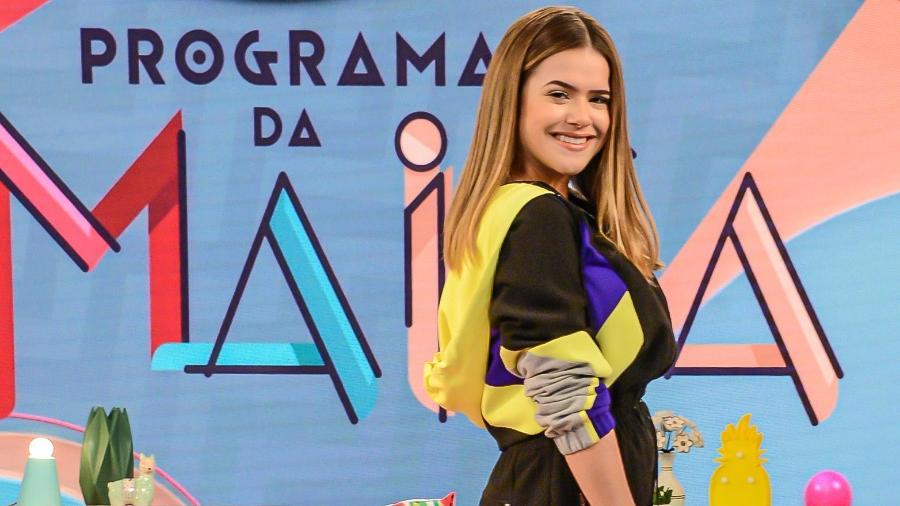 Em março de 2019, ainda com 16 anos, Maísa ganhou um programa com o seu nome no SBT - João Raposo/ SBT