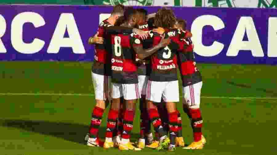 Flamengo tem surto de covid-19: mais de 40 infectados no clube, sendo 19 jogadores - ALEXANDRE VIDAL / FLAMENGO