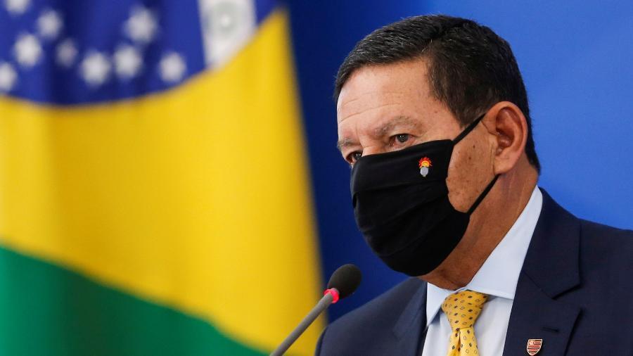Vice-presidente Hamilton Mourão - Adriano Machado/Reuters