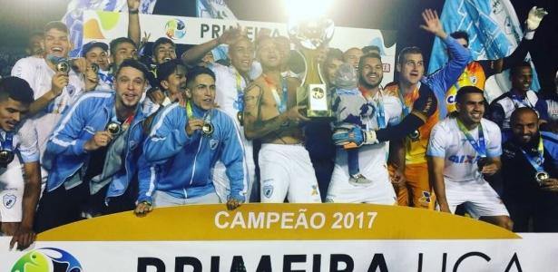 O Londrina foi campeão da Primeira Liga em 2017 - Divulgação/Primeira Liga