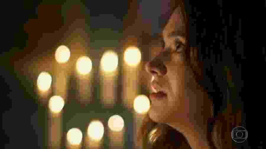 Luna (Juliana Paiva) em Salve-se Quem Puder (Reprodução/TV Globo). - Reprodução/TV Globo