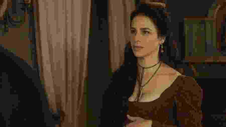 Larissa Bracher como Benedita em Novo Mundo (Divulgação/ TV Globo) - Divulgação/ TV Globo