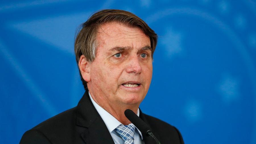 Bolsonaro: não temo absolutamente nada, só Deus me tira daqui - Imagem: Alan Santos/PR/Palácio do Planalto/Flickr