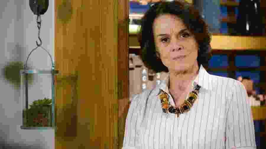 Glória (Clarisse Abujamra) em As Aventuras de Poliana (Divulgação/SBT). - Glória (Clarisse Abujamra) em As Aventuras de Poliana (Divulgação/SBT).