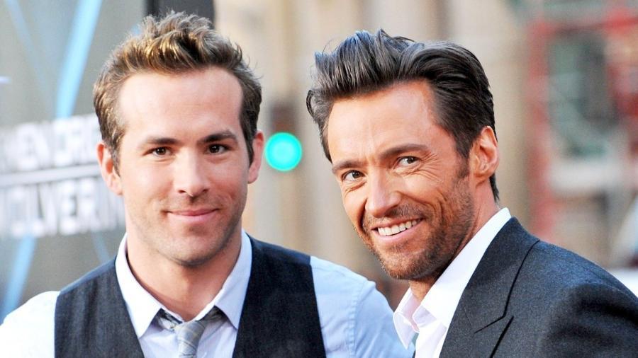 Ryan Reynolds e Hugh Jackman - Reprodução