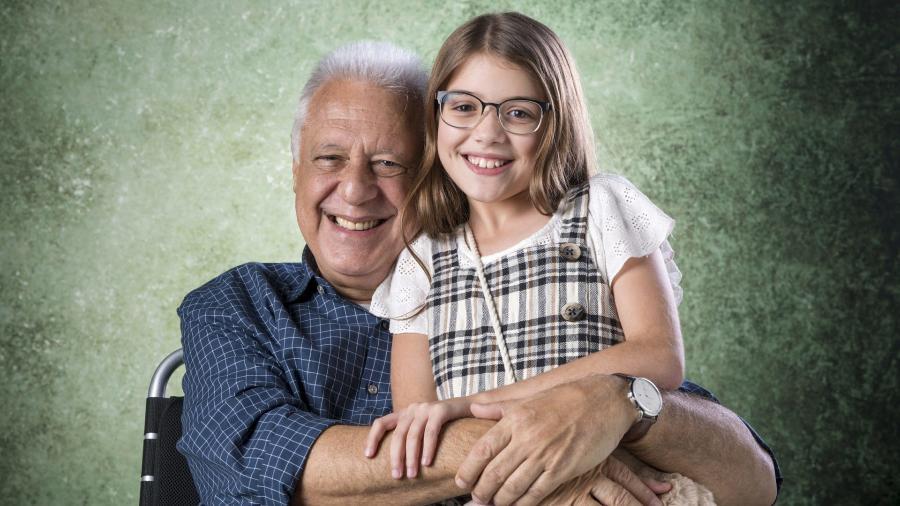 Alberto (Antonio Fagundes) e Sofia (Valentina Vieira) em Bom Sucesso  - Divulgação/ TV Globo