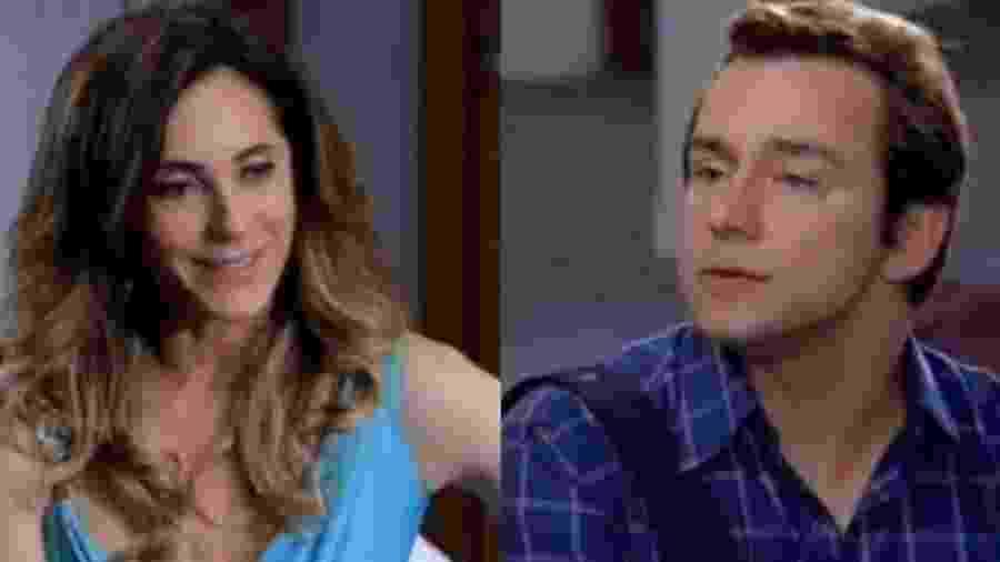 Tereza Cristina (Christiane Torloni) e Fred (Carlos Vieira) de Fina Estampa (Reprodução - TV Globo) - Reprodução / Internet