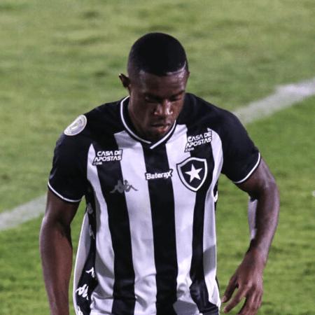 Marcelo Benevenuto, jogador do Botafogo em campo - GettyImages
