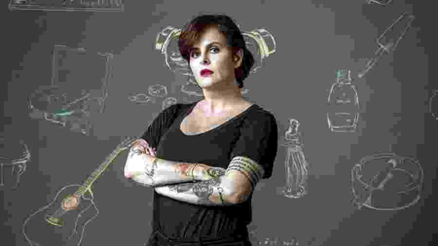 A escritora Fernanda Young - Reprodução/ TV Globo