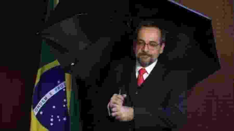 O ministro da Educação, Abraham Weintraub  - Reprodução