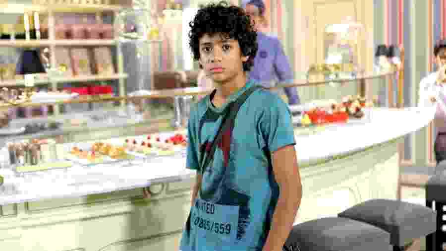 Gabriel Santana como Mosca em Chiquititas (Lourival Ribeiro / SBT) - Reprodução / Internet