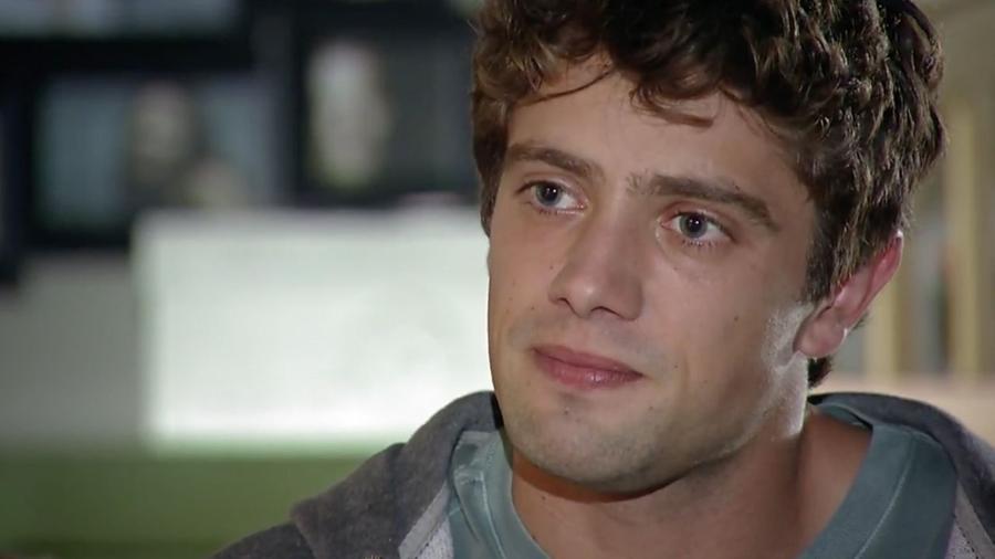 Rodrigo (Rafael Cardoso), em A Vida da Gente (reprodução/TV Globo) - Reprodução / Internet