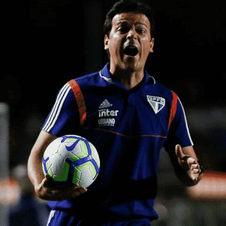 Fernando Diniz e a bola, a parceira de uma vida - GettyImages
