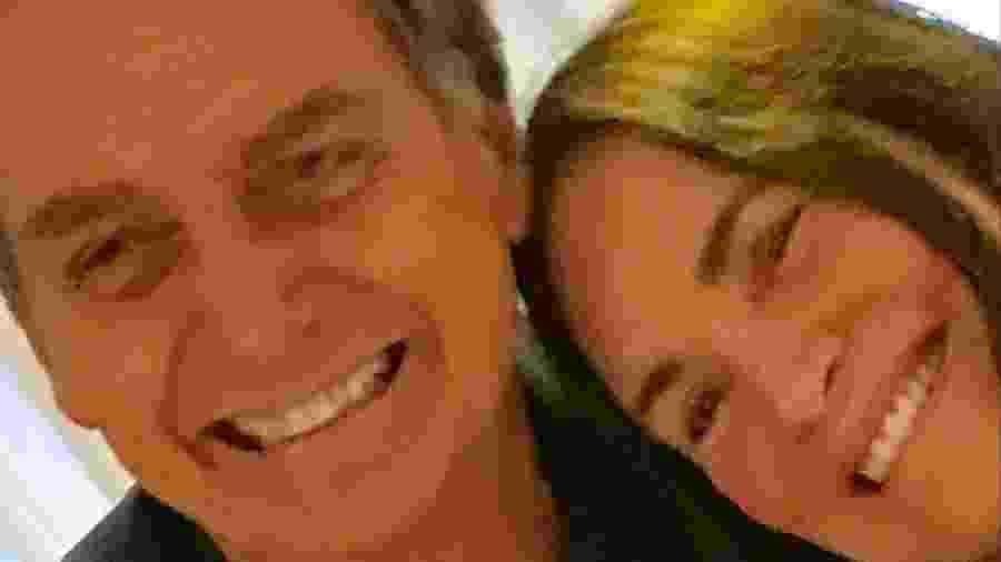 Bolsonaro e Regina Duarte (Foto: Reprodução/ Instagram)