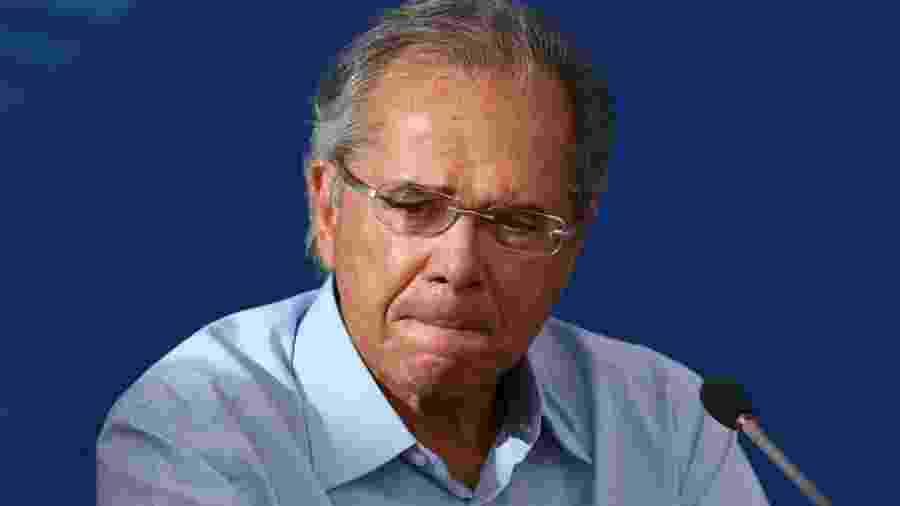 O ministro Paulo Guedes (Economia)                              -                                 ABR