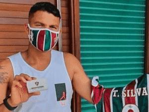 Fluminense quer repatriar Thiago Silva - Reprodução/Twitter - Reprodução/Twitter
