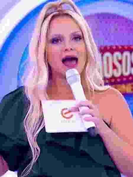 Eliana, apresentadora do SBT - Reprodução/SBT