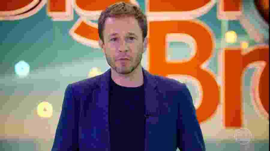Tiago Leifert apresentará o BBB20, que estreia na próxima terça-feira (21) - Reprodução
