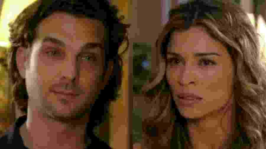 Alberto (Igor Rickli) e Ester (Grazi Massafera) de Laços de Família (Reprodução - TV Globo) - Reprodução / Internet