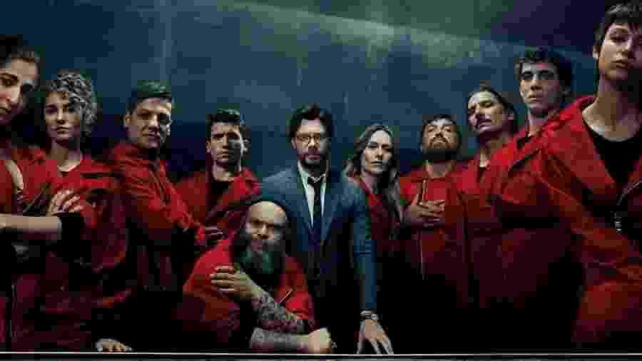 La Casa de Papel 3 foi lançada em julho pela Netflix - Divulgação