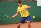 Time Brasil faz primeiro treino de adaptação no palco da Copa Davis - (Sem crédito)