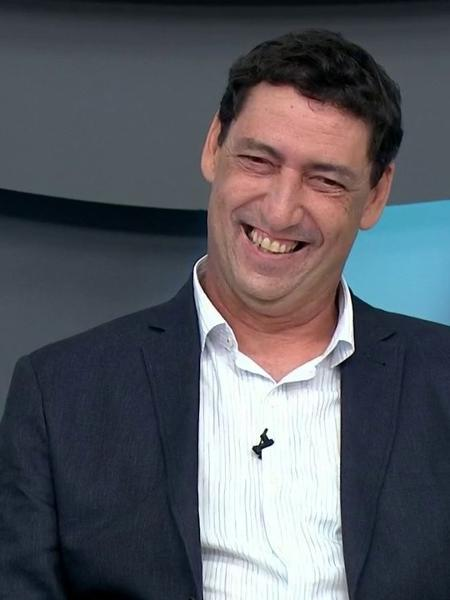 PVC trocou o Fox Sports pelo Grupo Globo - PVC em estreia no Bem Amigos!, no SporTV: fará jogo do Corinthians para debutar em transmissões (Reprodução/SporTV)