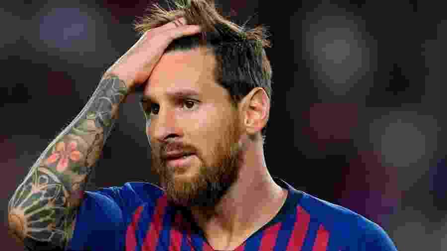 Lionel Messi, do Barcelona, tem o salário mais alto do futebol espanhol - Divulgação/Barcelona