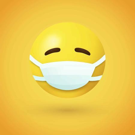 Emoji de máscara - Emoji de máscara