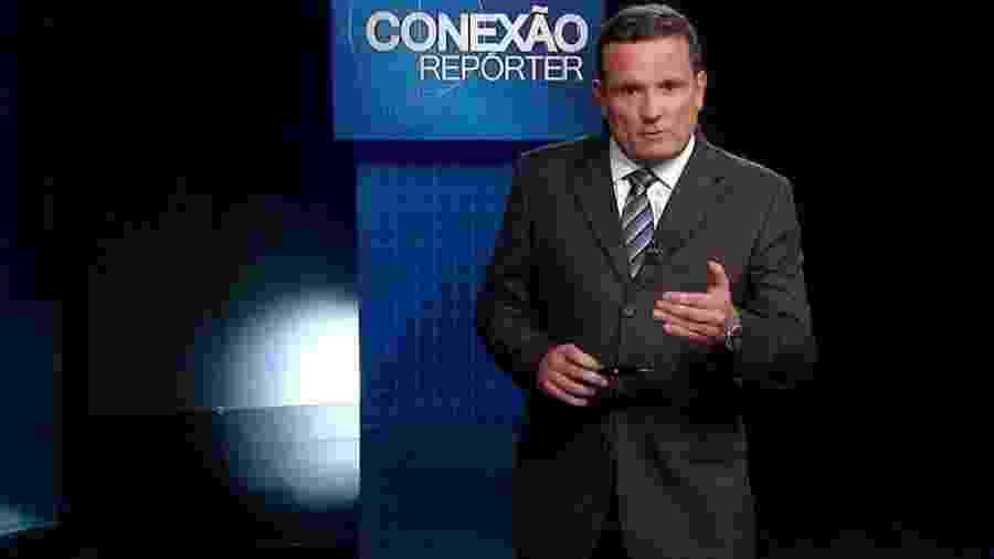 """O jornalista Roberto Cabrini, apresentador do """"Conexão Repórter"""", não teve o se contrato renovado com o SBT - Reprodução / Internet"""