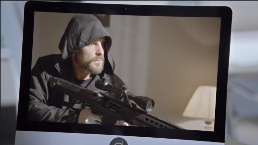Benjamin (Igor Rickli) em Apocalipse (Foto: Reprodução/Record TV) - Reprodução / Internet