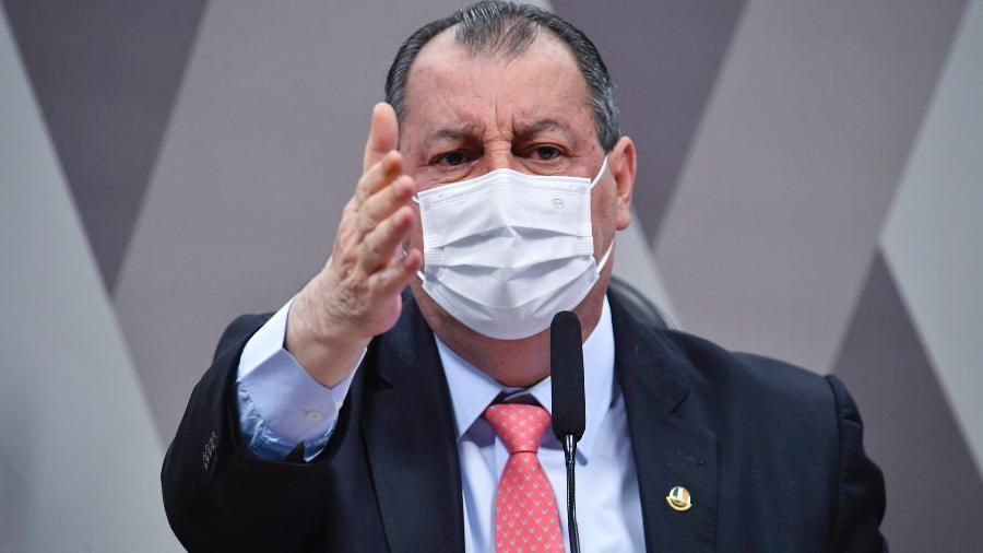 O presidente da CPI da Covid, senador Omar Aziz (PSD-AM)  -  Leopoldo Silva/Agência Senado