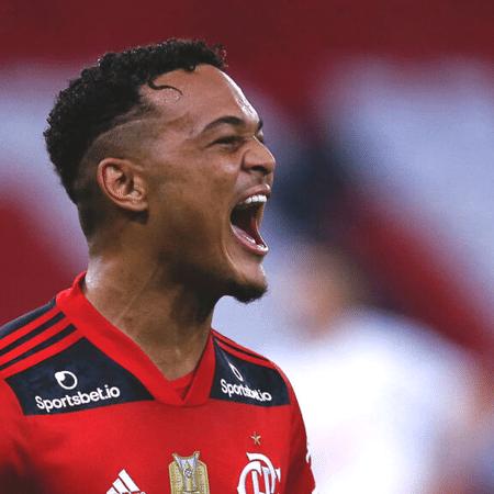 Rodrigo Muniz tem contrato com o Flamengo até maio de 2024 - GettyImages