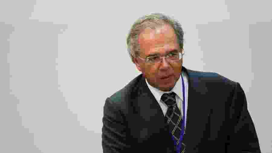 Ministro da Economia, Paulo Guedes, representou o Brasil em Davos - Reuters