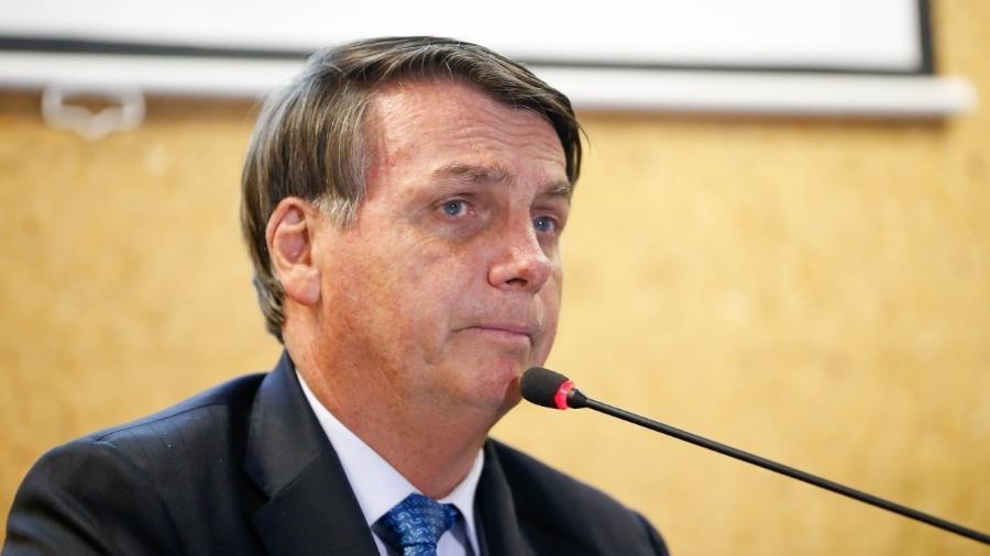 O presidente da República, Jair Bolsonaro (sem partido)                              -                                 CAROLINA ANTUNES/PR