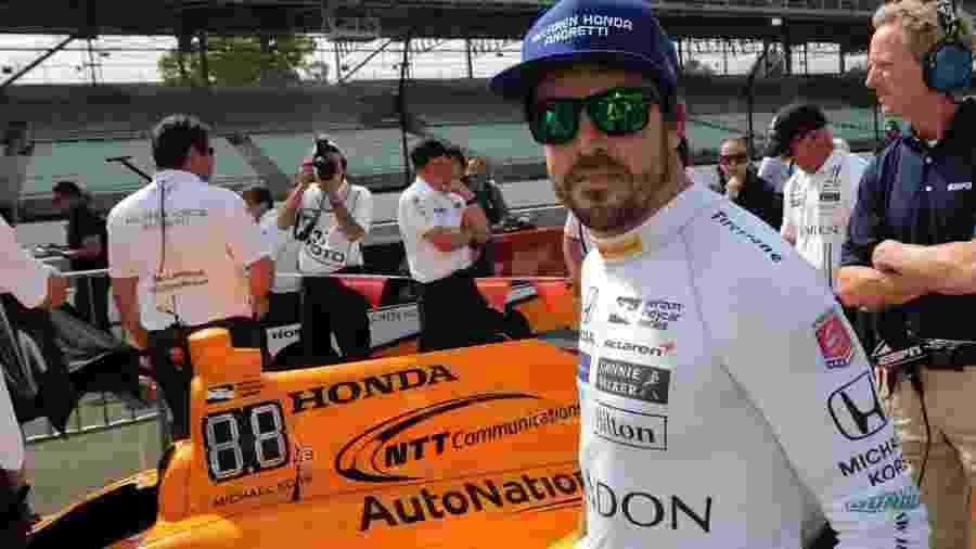 Alonso acredita que a participação na prova vai ajudar no seu desenvolvimento como piloto - Thomas J. Russo/USA TODAY Sports/Reuters