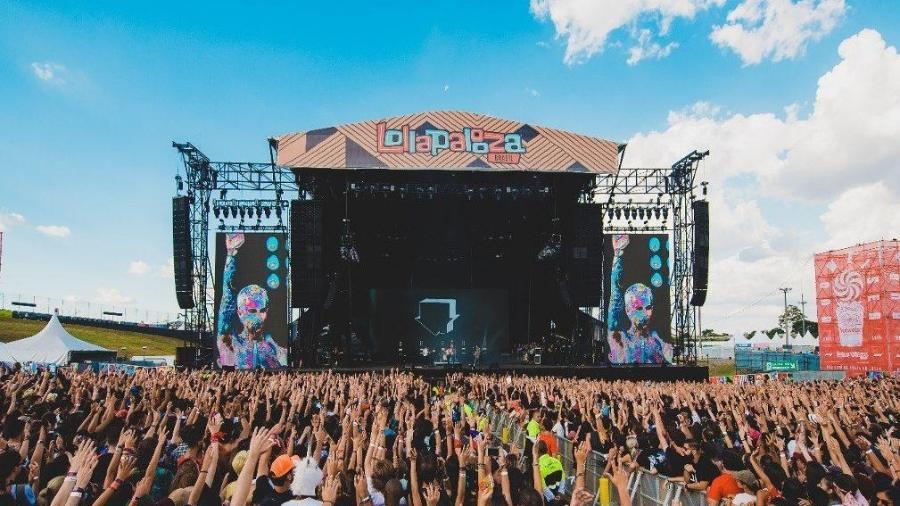 Palco do Lollapalooza Brasil, que em 2020 dividirá atenções com a CCXP - Reprodução