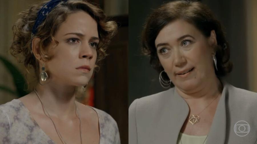 Leandra Leal (Cristina) e Lilia Cabral (Maria Marta) em cena de Império (Reprodução: Globo) - Reprodução / Internet