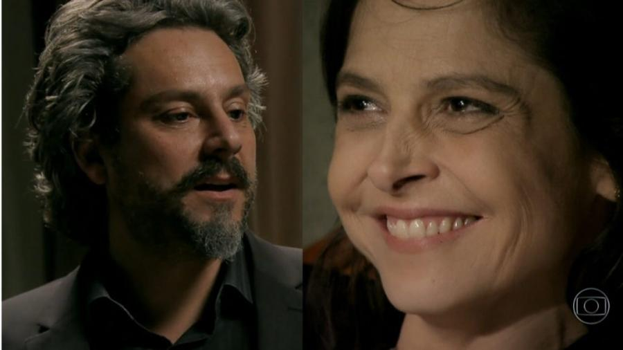 José Alfredo e Cora em Império (Reprodução/Globo) - Reprodução / Internet