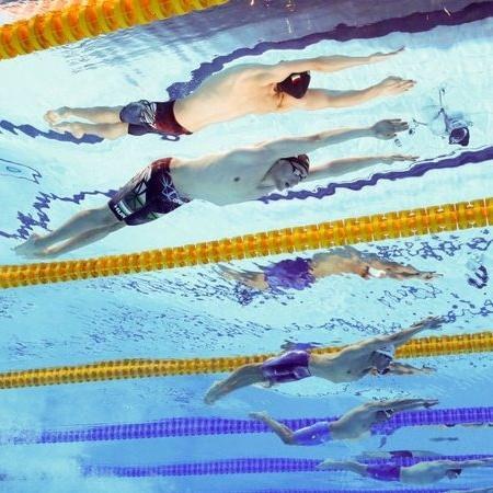 Nas Olimpíadas, Brasil disputou a final do revezamento 4x200m livre da Natação - GettyImages