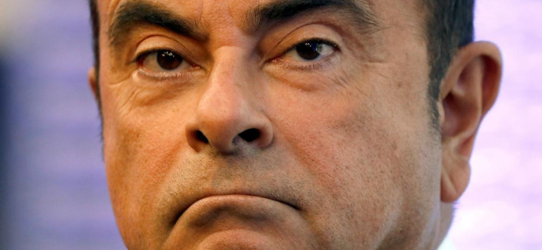 Carlos Ghosn, preso no Japão, é acusado de subdeclarar sua renda em dezenas de milhões de dólares - Reuters