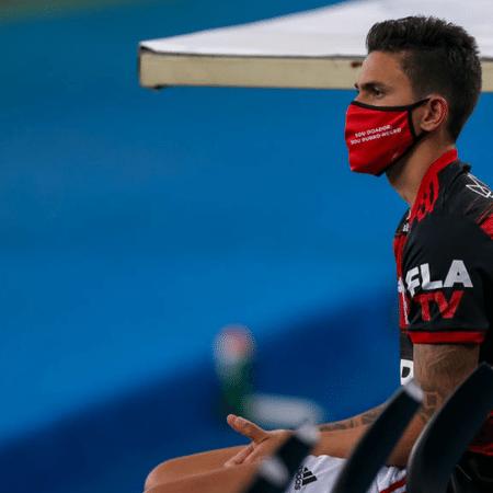 Pedro, atacante do Flamengo - GettyImages