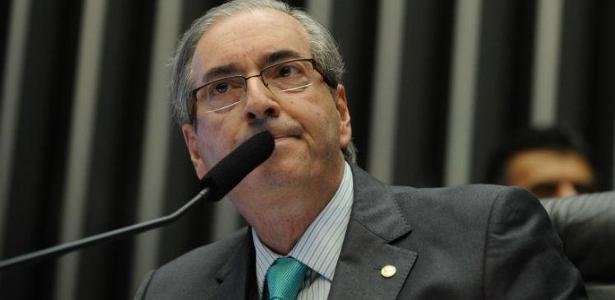 O ex-deputado Eduardo Cunha (PMDB-RJ), réu acusado de corrupção