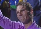 Nadal chora após conquistar o título no US Open; assista o vídeo - (Sem crédito)