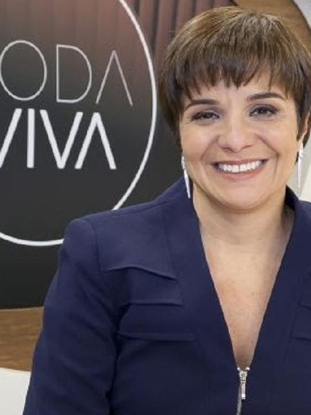 Vera Magalhães, apresentadora do Roda Viva, da TV Cultura - Divulgação/TV Cultura