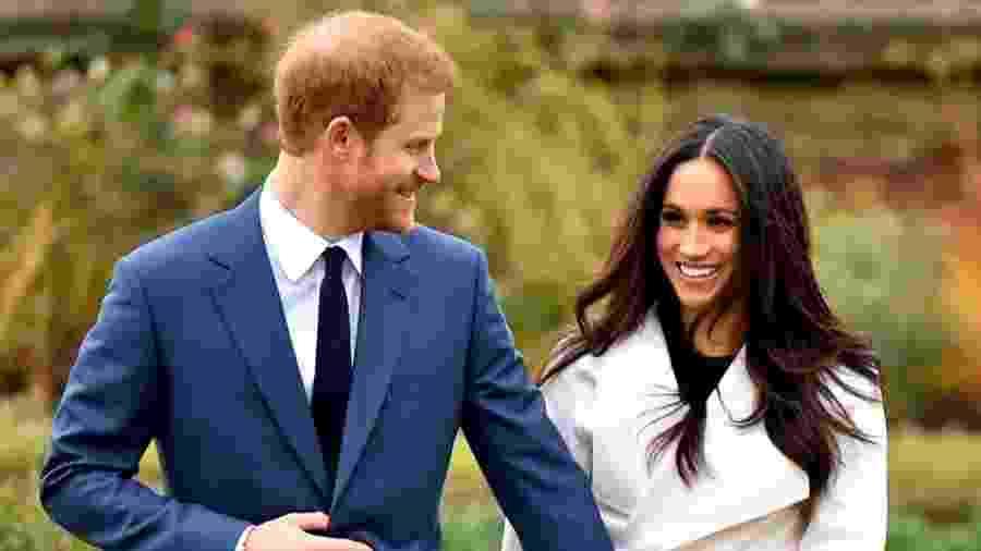 Príncipe Harry e Meghan Markle (Foto: Reprodução/Instagram) - Príncipe Harry e Meghan Markle (Foto: Reprodução/Instagram)