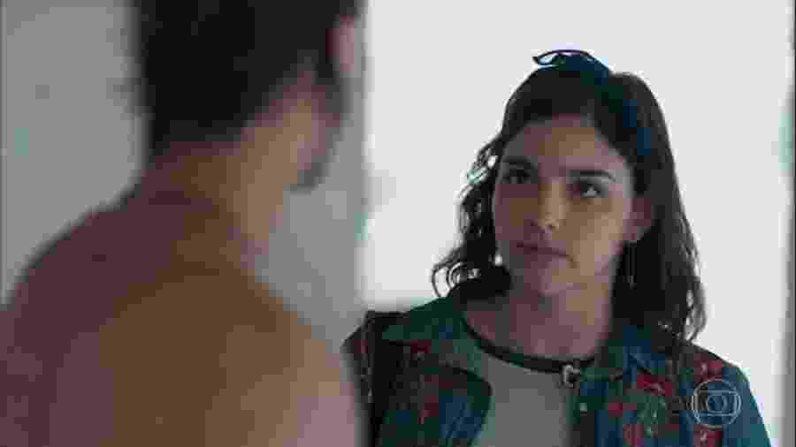 Deco (Pablo Morais) e Keyla (Gabriela Medvedovski) em Malhação (Reprodução/TV Globo). - Reprodução / Internet