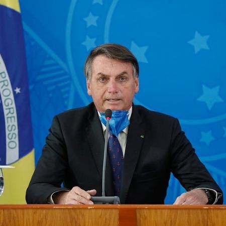 O presidente da República, Jair Bolsonaro -  Isac Nóbrega/PR